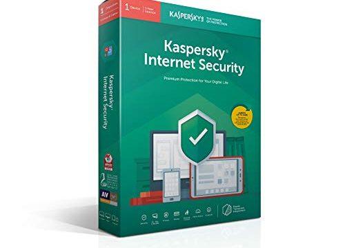 Kaspersky Internet Security | 1 Gerät | 1 Jahr | Deutsch | installierbar in allen europäischen sprachen | Box | 2019|Standard|1 Gerät|1 Jahr|PC/Mac/Android/iOS|Download|Download
