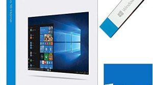 USB Flash Drive – Betriebssystem Windows 10 Vollversion – 1 Lizenz – Deutsch – Windows 10 Home 64 bit / 32 bit