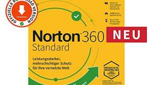 Norton 360 Standard 2020 | 1 Gerät | 1 Benutzer | 1 Jahr | PC/Mac | Aktivierungscode per Email