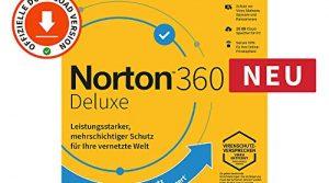 Norton 360 Deluxe 2020 | 3 Gerät | 1 Benutzer | 1 Jahr | PC/Mac | Aktivierungscode per Email