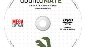 DVD – Ubuntu MATE 16.04 Live – 32 & 64 bits