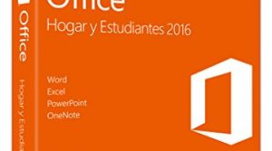 MS Office Home and Student 2016 Win P2 EuroZone Medialess Spanish ES