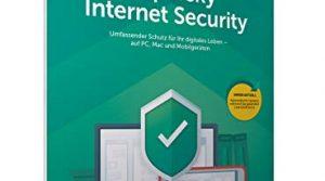 Kaspersky Internet Security 3 Geräte Upgrade Code in a Box FFP