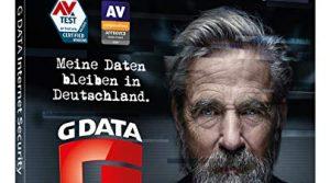 G DATA Internet Security 2020 | 3 Geräte – 1 Jahr | Trust in German Sicherheit | Antivirus für Windows, Mac, Android, iOS | DVD-ROM