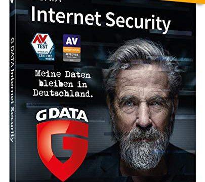 G DATA Internet Security 2020   3 Geräte – 1 Jahr   Trust in German Sicherheit   Antivirus für Windows, Mac, Android, iOS   DVD-ROM