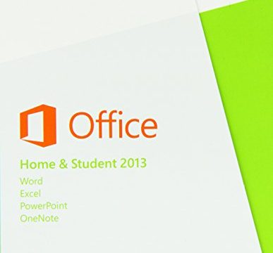 1PC Product Key Card ohne Datenträger – Microsoft Office Home and Student 2013 – englisch