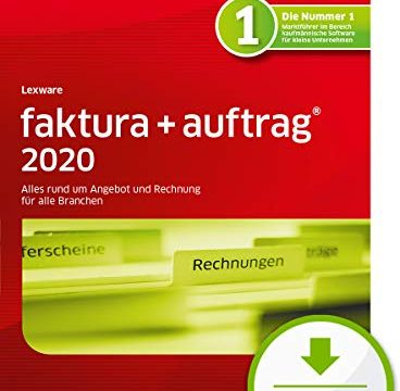faktura+auftrag 2020 Download Jahresversion 365-Tage|PC Aktivierungscode per Email