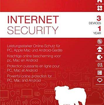 Produkt Key Card – 3 Geräte / 1 Jahr | Firewall | Anti-Malware | Jugendschutz | Game Booster | Lizenz – BullGuard Internet Security