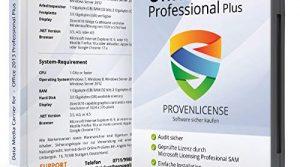Deutsch – inkl. aller aktuellen Updates – ProvenLicense 32/64 bit ISO DVD + Lizenzschlüssel per E-Mail – Microsoft® Office 2013 Professional Plus
