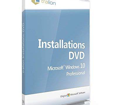 Microsoft® Windows 10 Professional 64bit, inkl. Lizenzkey, inkl. Tralion DVD, inkl. Lizenzdokumente, Audit-Sicher, deutsch – Windows 10 Pro