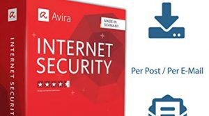 Avira Internet Security Suite 2020 | 1 Gerät / 1 Jahr | von SerialCart Aktivierungscode per Post/Download