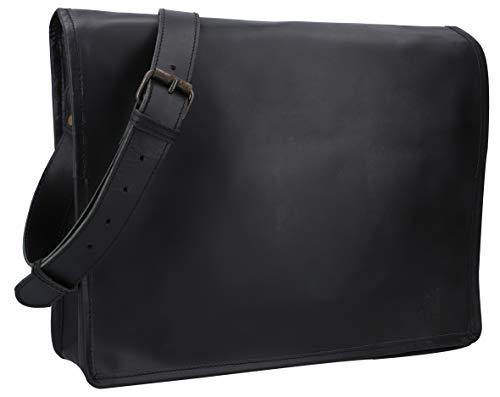 Top 9 Tasche Herren Schwarz Leder – Laptop-Aktentaschen