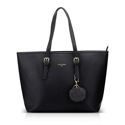 Top 9 Tasche Damen Shopper Schwarz – Damen-Henkeltaschen