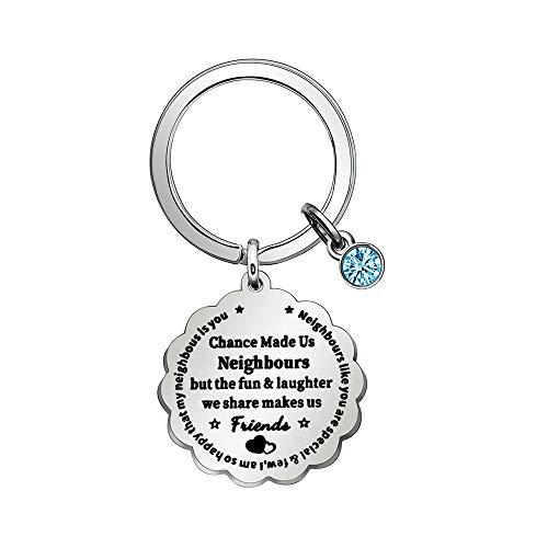 Top 10 Bester Nachbar Geschenk – Schlüsselanhänger für Damen