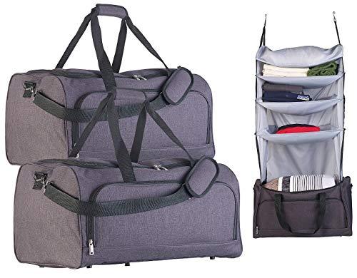 Top 8 Zipproll Weekender Reisetasche – Kleidertaschen