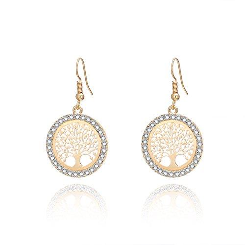Top 9 Silver Ohrringe Damen – Ohrringe für Damen