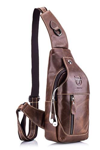 Top 9 Crossbag Herren klein Leder – Herrentaschen