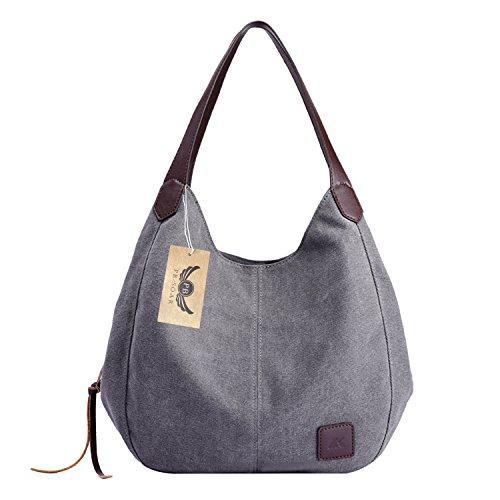 Top 10 Canvas Handtasche Klein – Damen-Schultertaschen