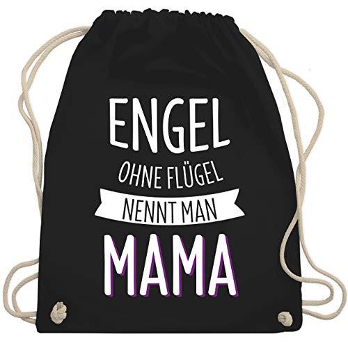 Top 8 Flügel Engel Schwarz – Turnbeutel