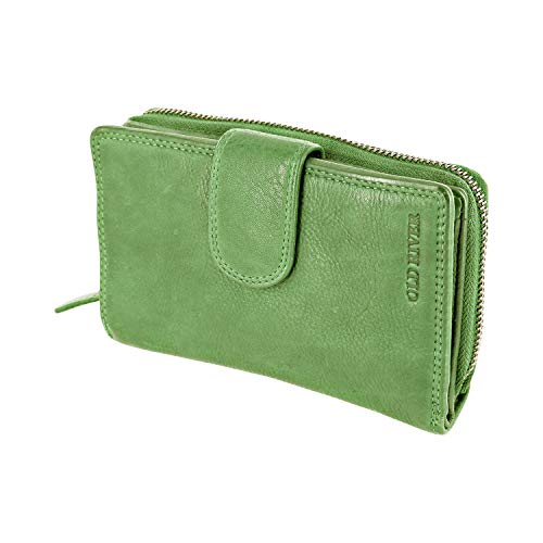 Top 10 Damen Portemonnaie Leder Grün – Damen-Geldbörsen
