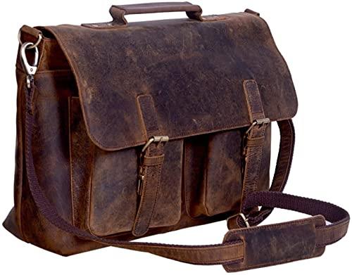 Top 10 Laptoptasche Büffelleder – Laptop-Aktentaschen