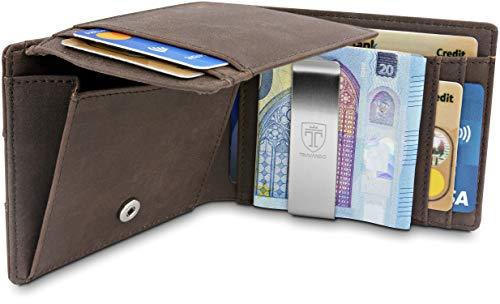 Top 10 RFID Geldbeutel Herren Leder – Herren-Geldbörsen