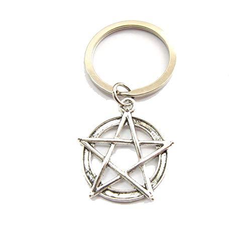 Top 8 Pentagramm In Silber – Schlüsselanhänger für Damen