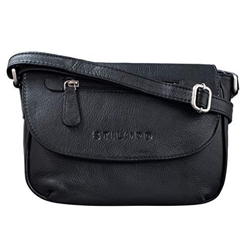 Top 8 Handtasche Schwarz Leder klein – Damen-Umhängetaschen