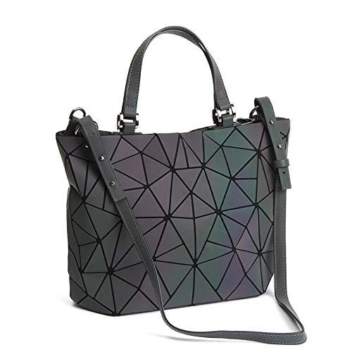 Top 10 Geometrische Tasche Leuchtend große – Damen-Schultertaschen