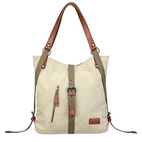Top 10 Canvas Damen Rucksack – Damen-Rucksackhandtaschen