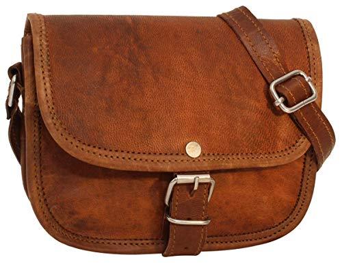 Top 9 Handtasche braun Leder – Damen-Umhängetaschen