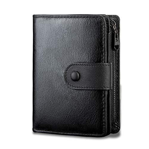 Top 10 Echtleder Brieftasche Herren mit Reissverschluss – Herren-Geldbörsen