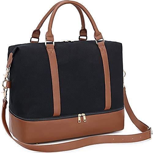 Top 9 Weekend Bag Damen Schwarz – Weekender