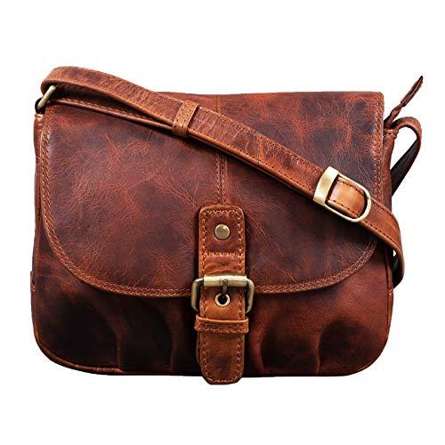 Top 8 Handtasche Leder Damen Vintage – Damen-Umhängetaschen