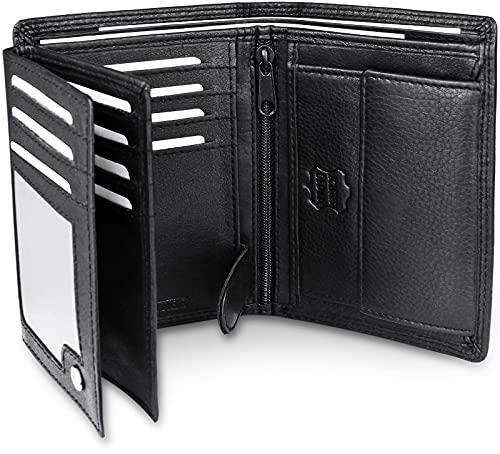 Top 10 Geldbörse Herren mit RFID Schutz – Herren-Geldbörsen