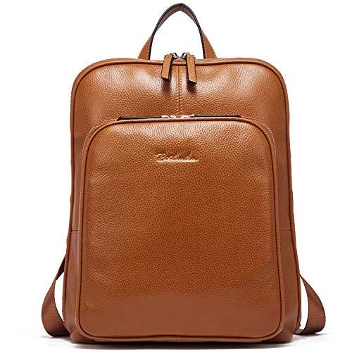 Top 10 Rucksack Damen Leder braun Groß – Damen-Rucksackhandtaschen