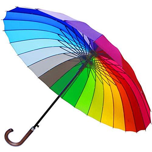 Top 10 Regenschirm bunt Groß – Stockschirme